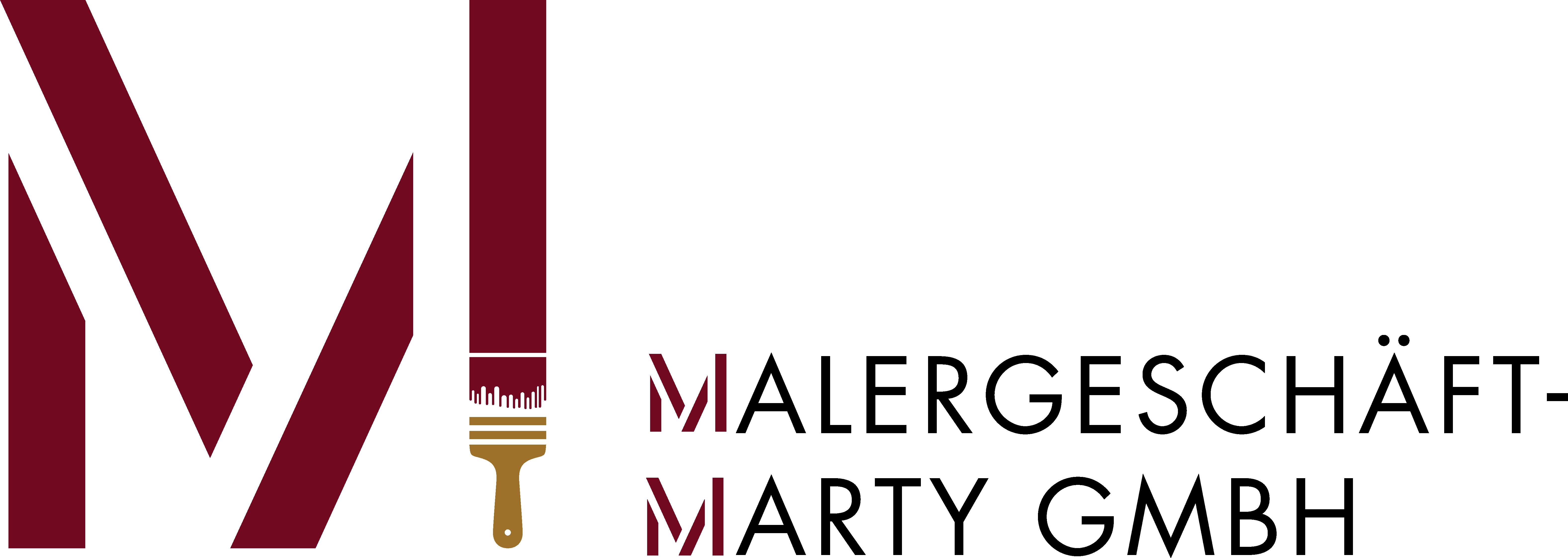 Logo_Malergeschäft_Marty